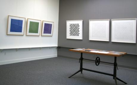 """Geometric Abstraction"" installation"