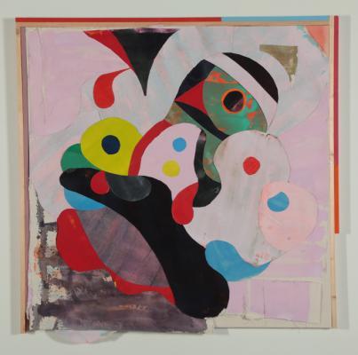 """06, 2018, acrylic on canvas, 54"""" x 54"""""""