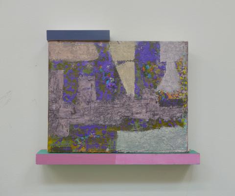 """07, 2018, acrylic on canvas, 9.75"""" x 11.75"""""""