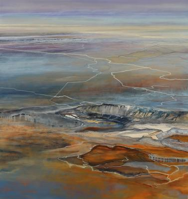 """Melt"", 2012, oil on canvas, 66 x 62"""