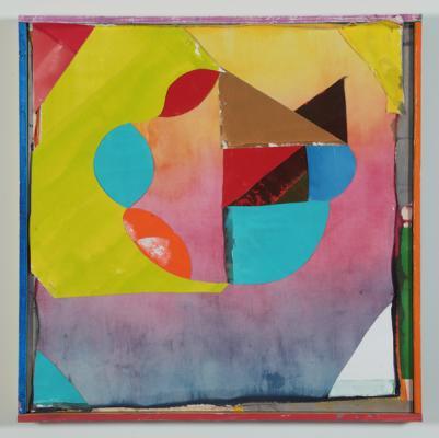 """10, 2018, acrylic on canvas, 37.5"""" x 37.5"""""""