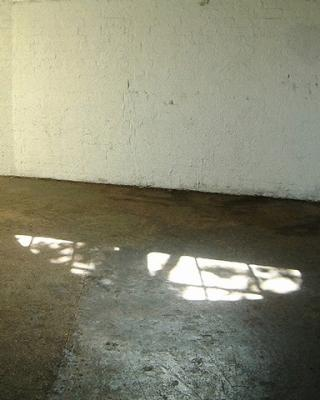 "Andrew Yates, ""Light on Floor"", 2001, archival inkjet print"