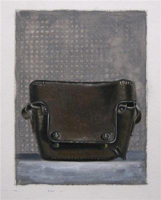 "Evelyn Woods, ""Case Study"" 2011, oil on paper"