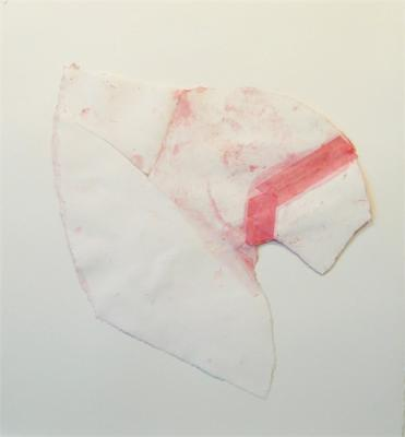 "Kimberly Trowbridge, ""Apart (i)"", 2006, mixed media and collage on paper"