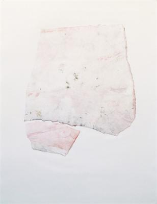 "Kimberly Trowbridge, ""Apart (torso)"", 2006, mixed media and collage on paper"