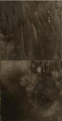 """Dale Lindman, """"Daytime Black"""", 2010, ink on paper"""