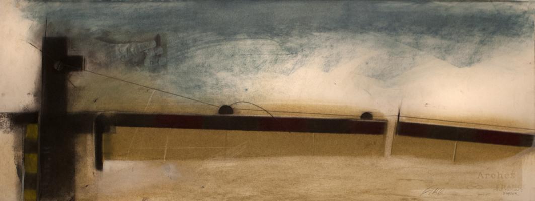 "Fred Birchman, ""Hesitation's Border"""