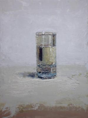 "Brian Blackham, ""Captured"", 2014, oil on panel, 16 x 12"""