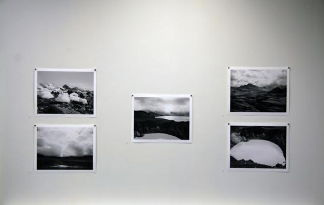 """The Black and White Photo Show"" installation image"