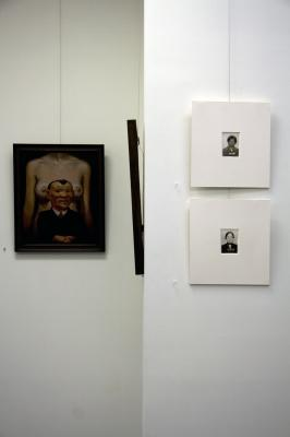 Installation images including the work of Peter Zokosky & John Fadeff
