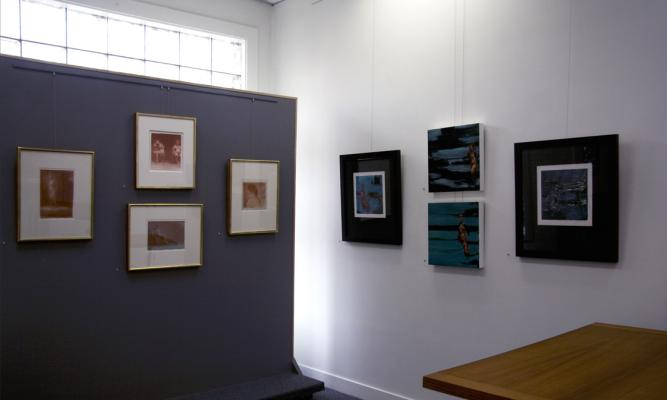 Installation images including the work of Fred Dalkey & Yvonne Petkus