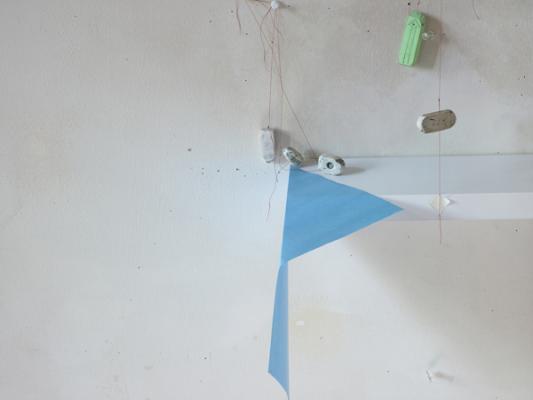 """Straight Erase"", 2014, archival ink jet print, 22 x 28"" framed"
