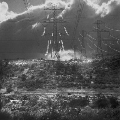 "Glenn Rudolph, ""Transmission Tower"", 2012, archival inkjet print, 21 x 21"" image, 24.5 x 24"" paper"