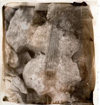 """Caroline Kapp, """"Sounds 1"""", 2013, inkjet print, 6.75 x 7.25"""" image size"""