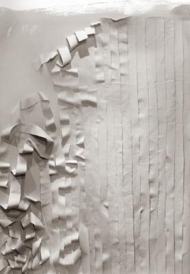 """Wall"", 2017, archival inkjet print, 51.5 x 39.75"""