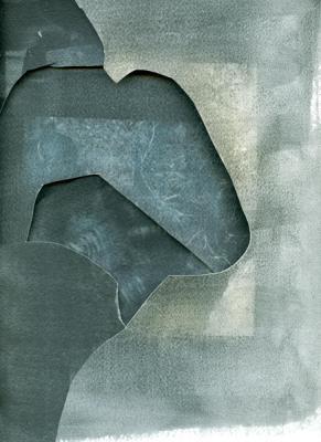 """Caroline Kapp, """"Straat #1"""", 2013, archival inkjet print, 5 x 7"""" image"""