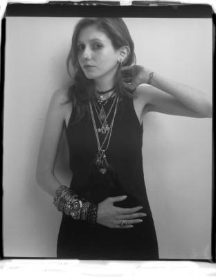 """""""Kassa, New York"""", 1989, Polaroid, 24 x 20"""" image"""