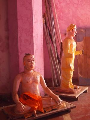 "Joe Crookes, ""Kerala Temple"", 2013, giclee print, 12.5 x 9"""
