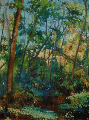 "Kimberly Clark, Untitled, 2012, oil on canvas, 48 x 36"""