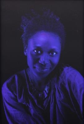 "Kerry James Marshall, ""Black Beauty (Alana)"", 2012, edition of 6, archival digital print, 23"" x 15"" image, 24.5"" x 17.5"" framed"