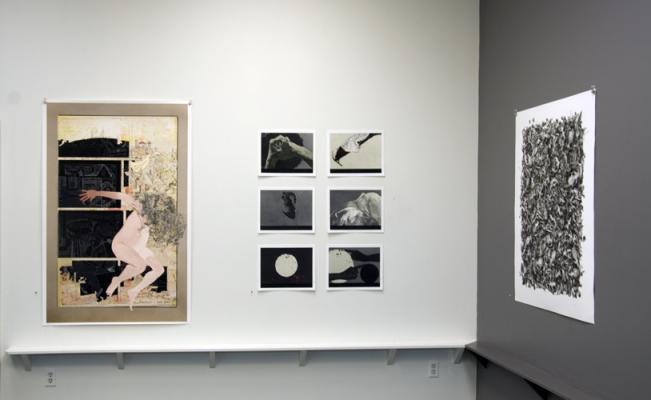 """""""Dianne Kornberg"""", September 6 - October 11, 2014, installation"""