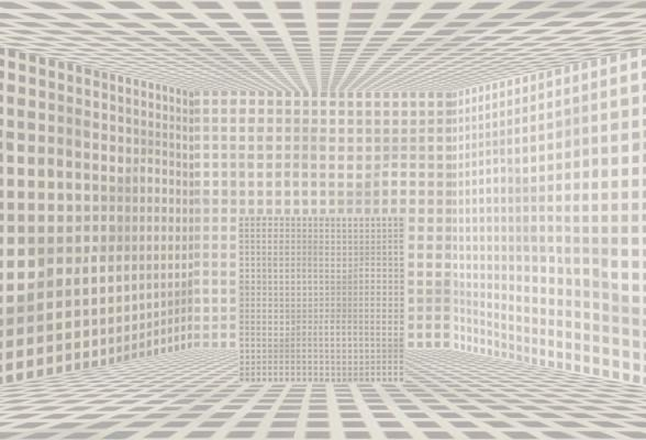 """Lattice Room, Number 2"", 2012, archival inkjet print (ed. of 3, 1 AP), 17x25"""