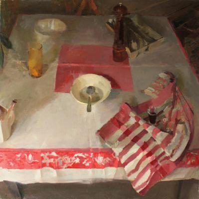 "Laura Swytak, ""Frontier"", 2010, oil on canvas, 48 x 48"""