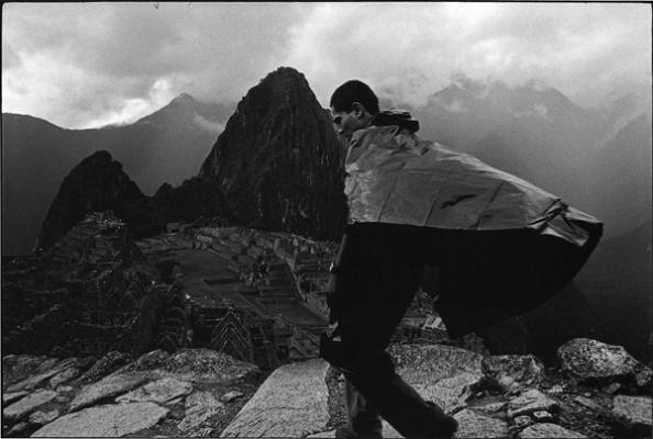 "Eduardo Calderón, ""Machu Picchu"", 2002, silver gelatin print, 9 x 13"""