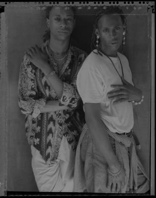 """Marcus and Edwin"", circa early 1980s, silver gelatin print, 20 x 16"" paper size"