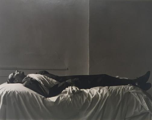 "Marsha Burns, Untitled, No date, silver gelatin print, 10 x 8"" paper size, 13.5"" x 15"" framed"