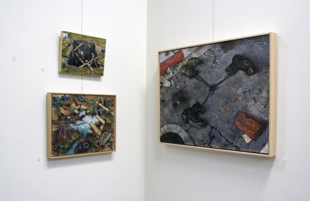 """New to Seattle: Artists from Koplin Del Rio"" Installation"