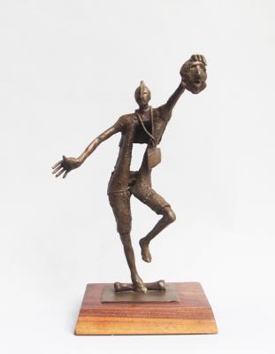 """""""Actor"""", Bronze, 2014, 13"""" x 9"""" x 6"""""""