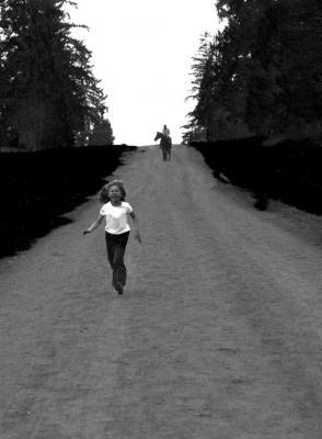 "Carolyn Krieg, ""Run Baby, Run 2"", 2014, archival inkjet print"