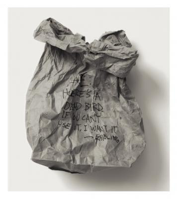 """""""To Kate"""", 1994, selenium-toned silver gelatin print, 27 x 23.25"""""""