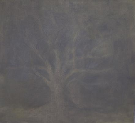 """Vannessa Tran, """"Untitled (2)"""", 2011, oil on paper, 8.25 x 8.75"""""""