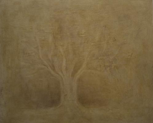 """Vannessa Tran, """"Untitled (8)"""", 2013, oil on paper, 10.25 x 12.5"""" im."""