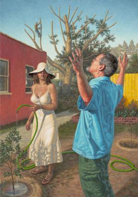 "F. Scott Hess, ""Transfiguration"",2009, oil on canvas, 35"" x 25"""