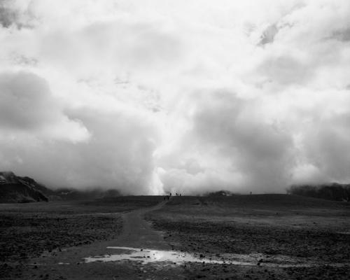 """Viti Crater"", 2014, archival pigment print, 25.25 x 30.25"" framed"