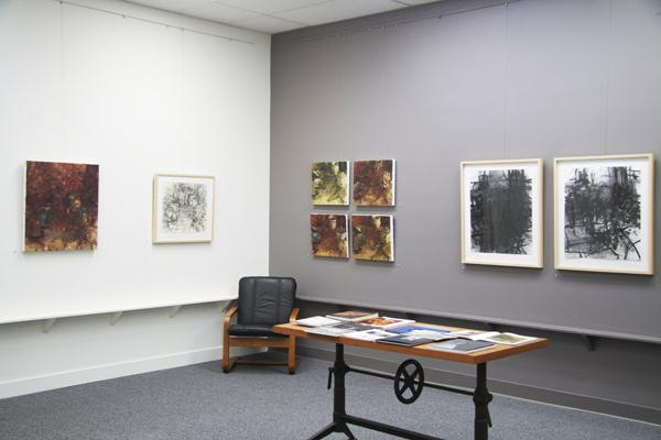 Installation image, Jordan Wolfson & Brian Blackham