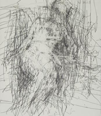 "Jordan Wolfson, ""Woman Sitting, 10.7.11"""