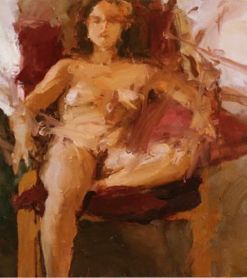 """Woman Sitting"""